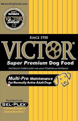 Victor Super Premium Dog Food Ingredients
